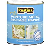 Rustins MPWH250 250ml Quick Dry Metal Paint - Wit