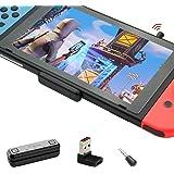 GULIkit Route Air+ Pro Bluetooth-adapter för Nintendo Switch/Switch OLED/Switch Lite PS4/PS5, trådlös Bluetooth-ljudsändare m