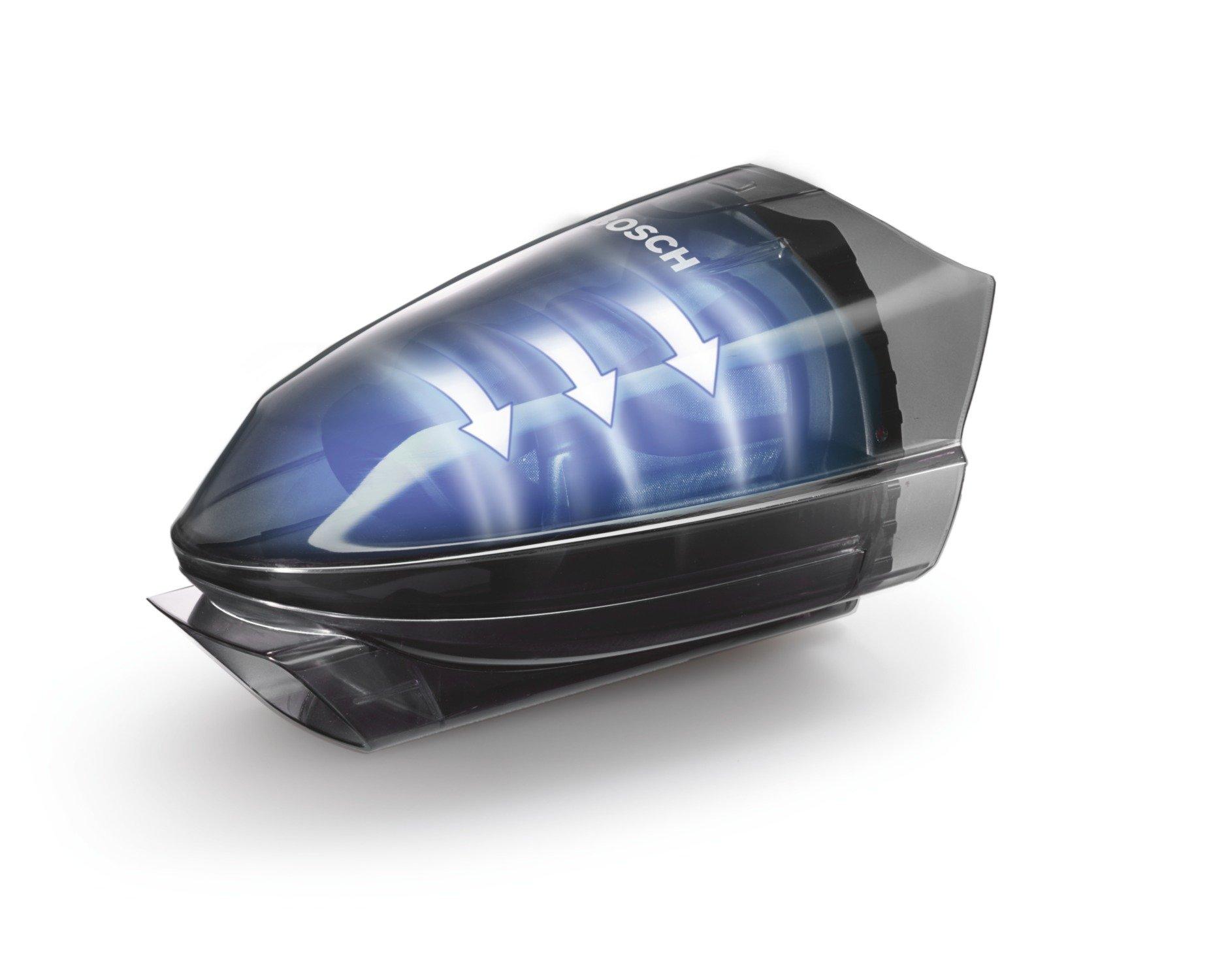 Bosch Move 20.4V Kabelloser Handstaubsauger BHN20110, schnelle Reinigung, hohe Reinigungsleistung, flexibel einsetzbar…
