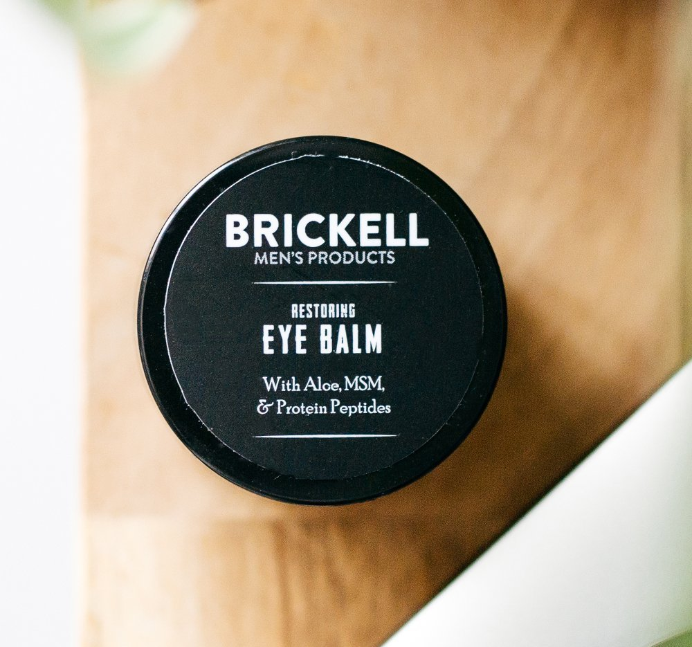 Brickell Men's Restoring Eye Cream for Men, Natural and Organic Anti Aging Eye Balm To Reduce Puffiness, Wrinkles, Dark…