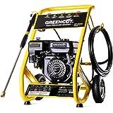 GREENCUT JET260X - Hidrolimpiadora de gasolina 2321PSI motor OHV 4 tiempos de 208cc 8cv alta presión 160bars Limpieza Exterio