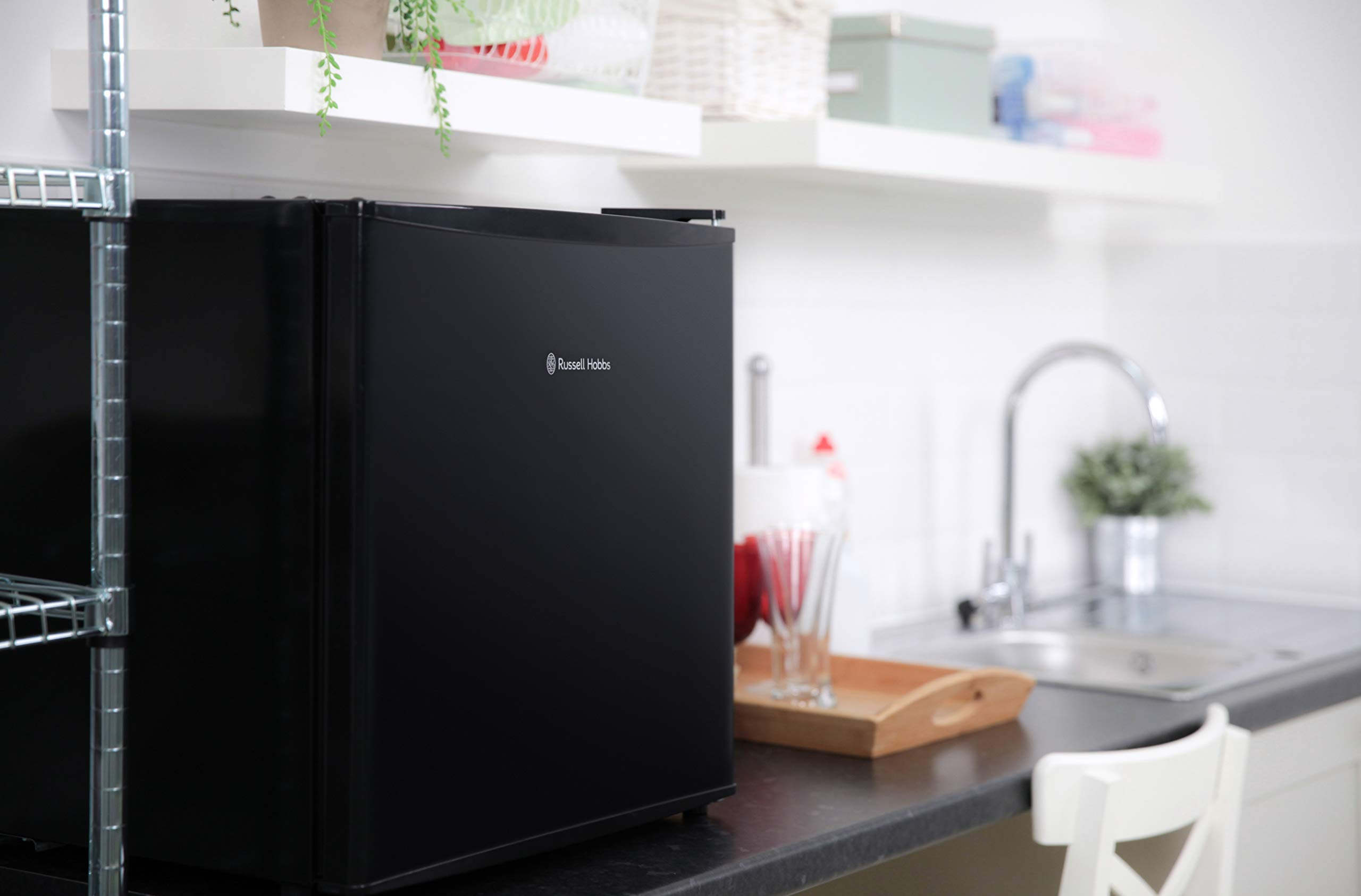 71mmUgLsfqL - Russell Hobbs RHTTLF1B 43L Table Top A+ Energy Rating Fridge Black