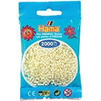 Hama - 501 - 02 - sachet de 2000 perles mini - (petites perles Ø2,5 mm) - Crème
