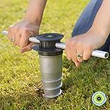 GARD & ROCK - VERANKERINGSVOET uit aluminium, die uit de grond komt - Multi-terreinen, te schroeven of vast te metselen - Qui