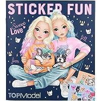 Depesche 10740 Livre de coloriage avec autocollants Motif chien Topmodel Env. 23,5 x 21 x 0,5 cm