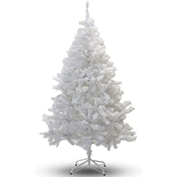 6FT White Premium Artificial Christmas/Xmas Tree - 6FT White Premium Artificial Christmas/Xmas Tree: Amazon.co.uk