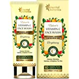 Oriental Botanics Nature's Vitamin C Brightening Face Wash - With Kakadu Plum - For Cleansed, Nourished and Ph Balanced Skin