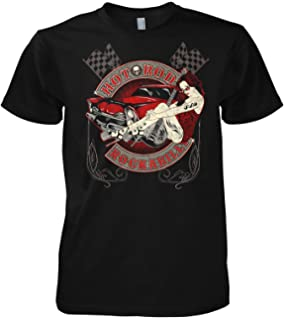 Gasoline Bardit T-shirt original Biker Racer Rockabilly Superpower