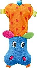 Trixie Hippo Plush Dog Toy, 14 cm