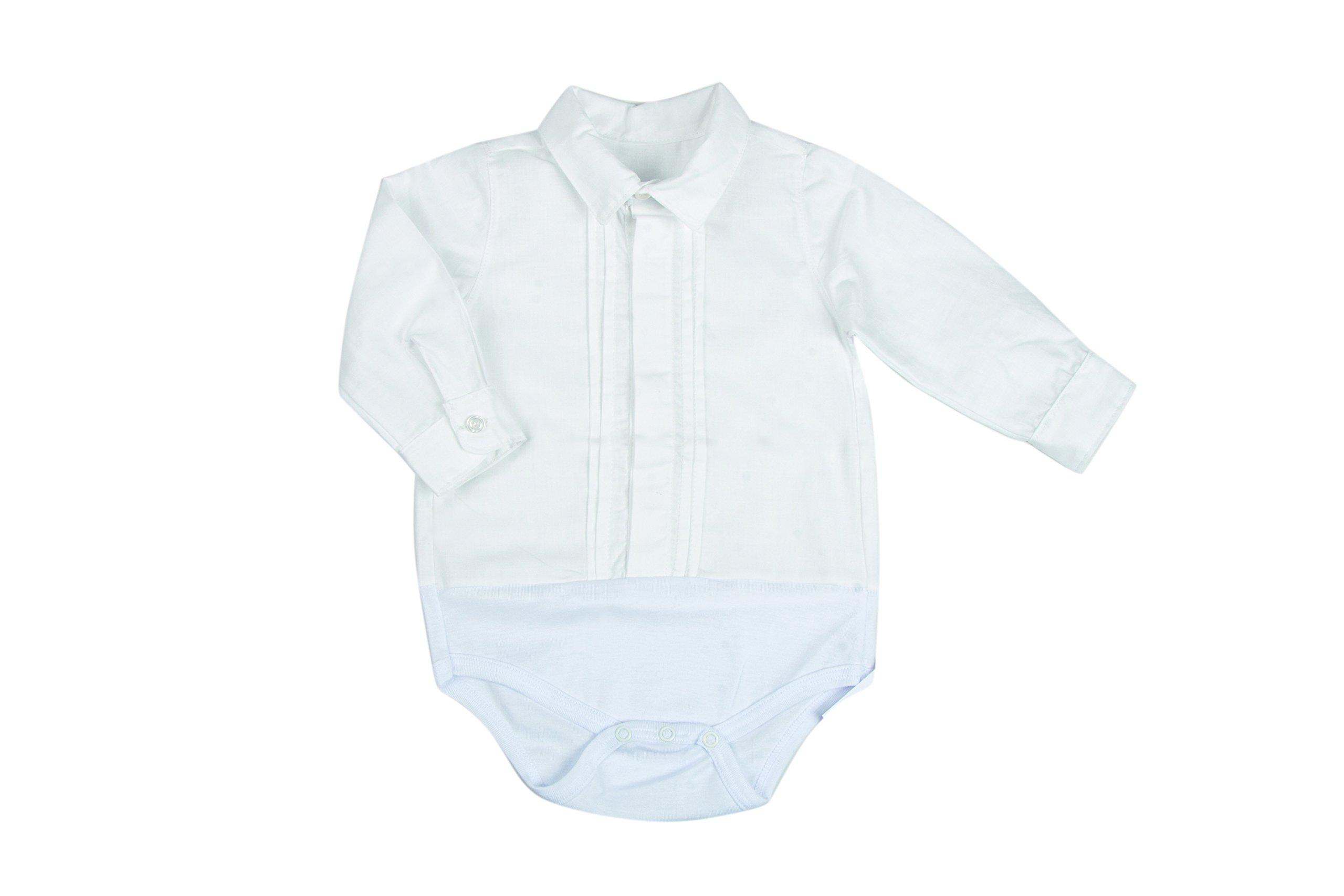 BabyVip – Body para niño, Estilo Abotonado, 100% algodón, Tejido Acanalado