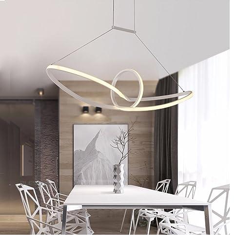 led pendelleuchte esstisch hngelampe pendellampe kronleuchter wohnzimmer kche pendel moderne aluminiu hngeleuchte pendellnge maximum 120 cm und - Hangeleuchte Wohnzimmer Led