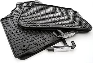 Kh Teile 64110 64310 Gummimatten Passend Für Caddy Komplett Set Gummi Fußmatten 4 Teilig Schwarz Auto