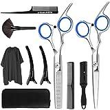 COXTNBIO tijeras de peluquería, Tijeras Peluquelo Profesional para el cabello, Tijeras Peluqueria Profesional con capa de bar