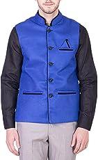 BIS Creations Men's Solid Waistcoat