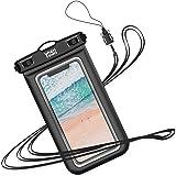 YOSH Pochette Étanche Smartphone IPX8 Sac étanche pour Téléphonepour iPhone 11 X XR XS 8 7 6s Plus Samsung Galaxy A51 S9…
