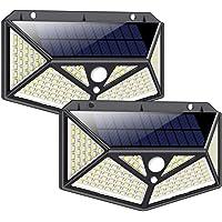 Solarlampen für Außen mit Bewegungsmelder 1500 Lumen, iPosible 150LED Umweltschutz Solar Aussenleuchte Led Solarleuchten…
