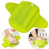 Brosse De Massage Des Pieds Laver Chaussons De Salle De Bain Avec Nettoyant Pour Les Pied Brosse à Pied Pour Chaussures Laver
