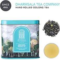 Dharmsala Oolong Tea, Chinese Style Oolong Tea, Himalayan Whole Leaf Loose Tea, 25g, USDA Organic Certified, Freshly Packed at Our Plantations in Dharmsala
