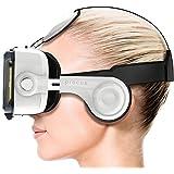Procus PRO (White) VR Headset - 100-120 Degree FOV with Highest Immersive Experience - Inbuilt Headphones