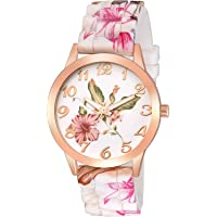 Emartos Analogue Women's & Girl's Watch (White Dial Multi Colored Strap)