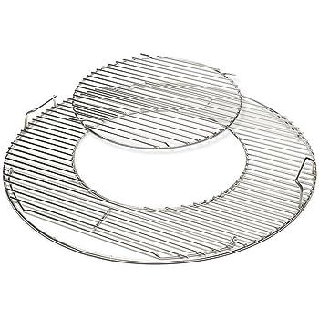 profi grillrost 18 8 edelstahl passend f r holzkohlegrill 57 cm rund garten. Black Bedroom Furniture Sets. Home Design Ideas