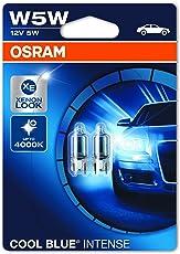 Osram COOL BLUE INTENSE Kennzeichenbeleuchtung W5W, 2825HCBI-02B, 12V, Doppelblister