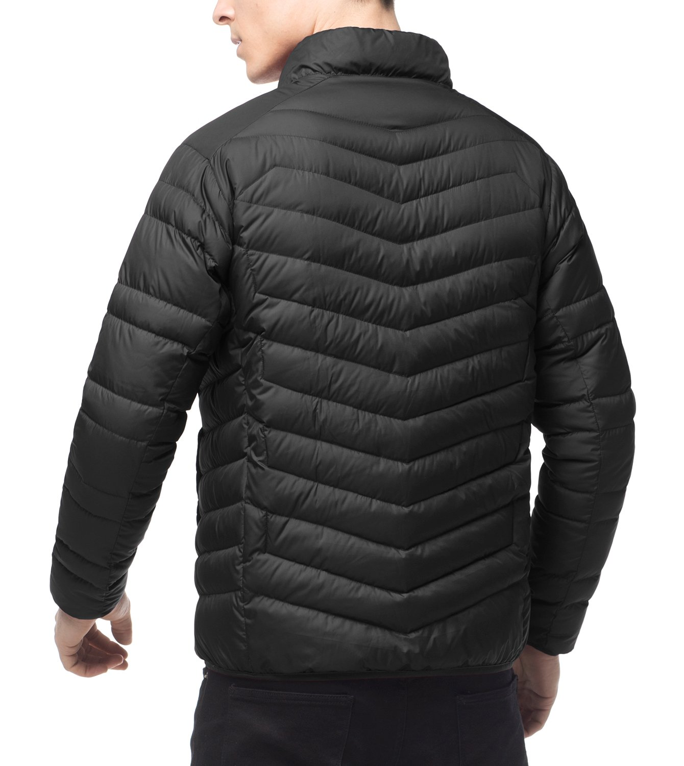 LAPASA Men's Down Jacket 600FP Packable Down Filled Jacket with Side Pockets YKK Zipped Men's Outdoor Winter Down Coats for Travel Hiking Climbing Skiing Casual M32 1