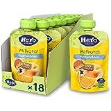 Hero Baby Mi Fruta - Bolsita de Fruta sabor Mediterráneo, Sin Azúcares Añadidos, para Bebés a Partir de los 12 Meses - Pack d