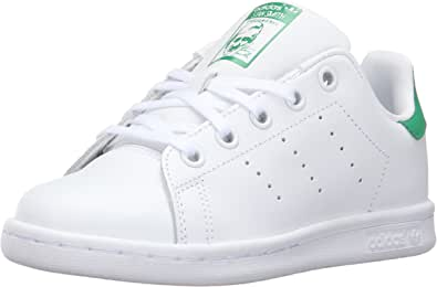 adidas Stan Smith White Green Youths Trainers - M20605