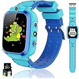 Reloj Inteligente para Niños con y Reproductor de MP3, Smartwatch Niños con Doble Cámara, 14 Juegos, Podómetro, Reloj Despert