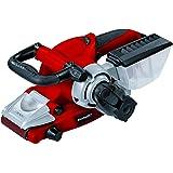 Einhell Bandschleifer TE-BS 8540 E (850 W, Schleiffläche 75x140 mm, Drehzahl-Elektronik, präziser Bandlauf, Staubabsaugung, werkzeugloser Schleifbandwechsel, Softgrip, inkl. 1x P80 Schleifband)