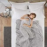 Manta pesada con 2 fundas reemplazables, tecnología de cuentas de nanocerámica, mantas sensoriales 2.0, gran sueño para perso