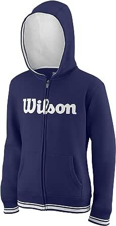 Wilson Y Script Cotton Po Hoody Sweatshirt /à Capuche Mixte Enfant