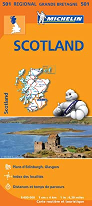 Carte Ecosse Michelin