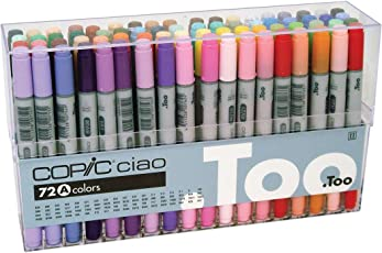 Copic Ciao Markers Set of 72 - Set A
