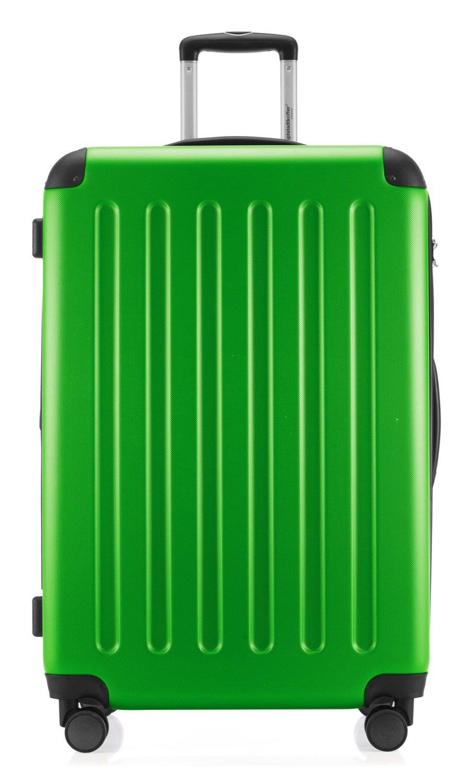 Hauptstadtkoffer-Spree-Hartschalen-Koffer-Koffer-Trolley-Rollkoffer-Reisekoffer-Erweiterbar-4-Rollen-TSA-75-cm-119-Liter-Apfelgrn