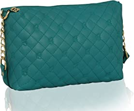 Kleio Stylish Quilted Sling Bag for Girls/Women