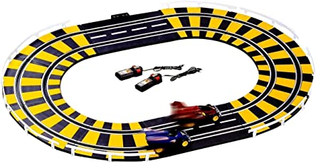 ZIGLY High Performance Electronic Road Racing Track Set with Independent Control (Yellow)