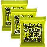Ernie Ball 2221X 310–46Regular Slinky Cordes pour guitare électrique (lot de 3)