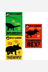 so you think you know about dinosaurs 3 books collection set by ben garrod Hardcover
