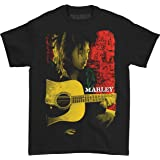 Zion Rootswear Men's Bob Marley Colored Pose T-Shirt