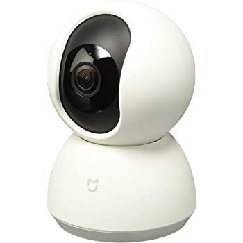 Xiaomi Mi Home Security Camera 360° IP Indoor Security Camera White Bulb - Surveillance Camera (IP Security Camera, Interior, Bulb, White, Ceiling/Wall/Desk, 720p)