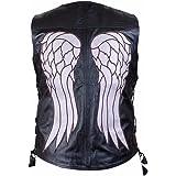 The Walking Dead Angel Wings - Gilet in Finta Pelle