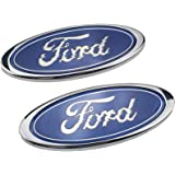 for F-ORD Old Mondeo Fox Fiesta Refit Accessories XCBW 2 Pack Car Logo Emblem Front Grill//Tailgate Badge