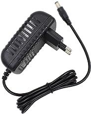 AST Works EU AC/DC Power Adapter For Yamaha Piaggero NP31 PV60 NPV80 PSR-E343 Keyboards
