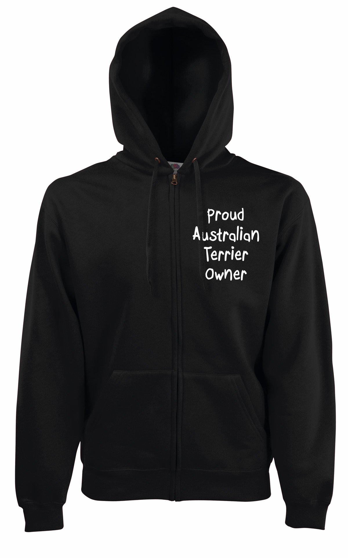 Proud Australian terrier Owner Dog Walker Hooded Jacket Hoodie Gift