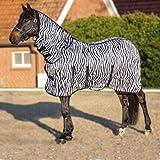 HKM 4669 Zebra - Manta para Caballo (165 cm)