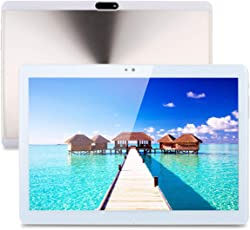 Excelvan F666-10.1 Zoll Android 6.0 3G Tablet PC (MTK6580 A7 Quad Core 1.5GHz, Dual Kameras, Dual Sim, 4000mAh, 800 * 1280 Pixel, 1GB RAM 16GB ROM) Gold