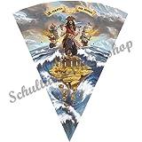 Roth Schultüte Pirat Zuckertüte Einschulung Schulanfang Schule Kinder: Größe: 85 cm