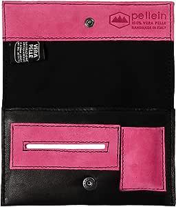 Pellein - Portatabacco in vera pelle Class - Astuccio porta tabacco, porta filtri, porta cartine e porta accendino. Handmade in Italy